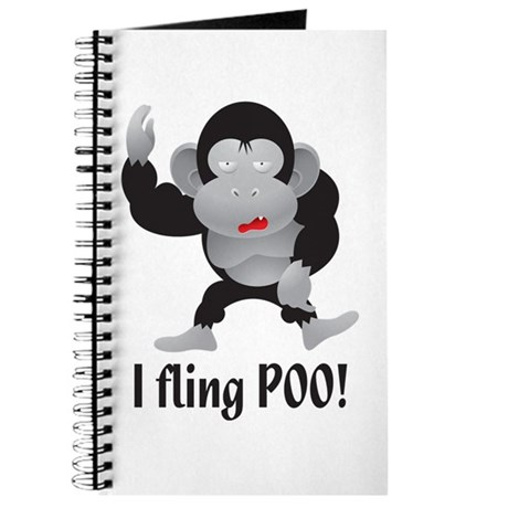 I fling POO! Journal