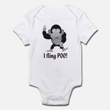 I fling POO! Infant Bodysuit