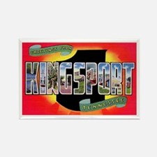 Kingsport Tennessee Greetings Rectangle Magnet