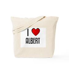 I LOVE ALBERT Tote Bag