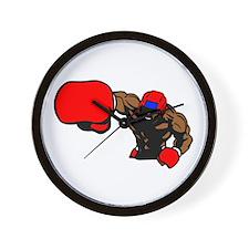 Boxing Knockout Wall Clock