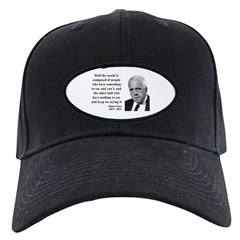 Robert Frost Quote 14 Baseball Hat