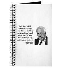 Robert Frost Quote 14 Journal