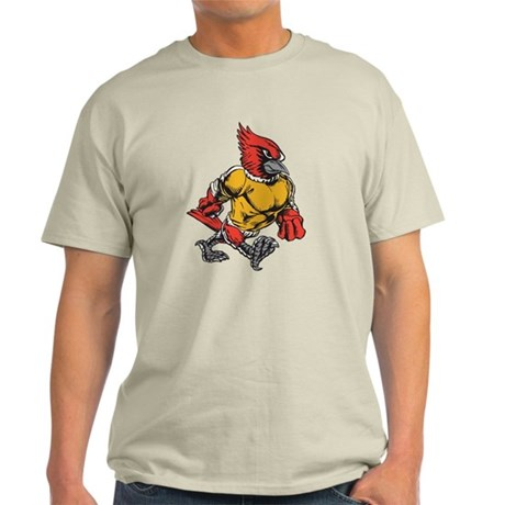 Angry cardinal light t shirt angry cardinal t shirt for Cardinal color t shirts