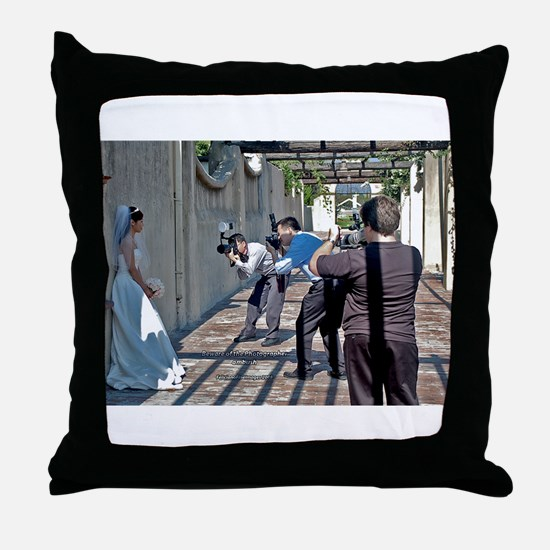 Get the Bride Throw Pillow