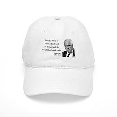 Robert Frost Quote 13 Baseball Cap