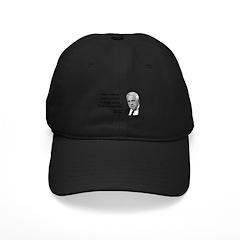 Robert Frost Quote 13 Baseball Hat