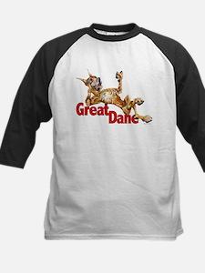 Great Dane Brindle LB Kids Baseball Jersey