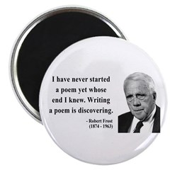 Robert Frost Quote 12 Magnet
