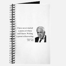 Robert Frost Quote 12 Journal