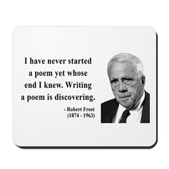 Robert Frost Quote 12 Mousepad