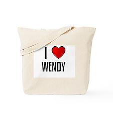 I LOVE WENDY Tote Bag