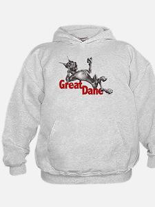 Great Dane Black LB Hoodie