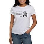 Robert Frost Quote 11 Women's T-Shirt