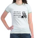 Robert Frost Quote 10 Jr. Ringer T-Shirt