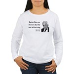 Robert Frost Quote 10 Women's Long Sleeve T-Shirt