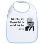 Robert Frost Quote 10 Bib