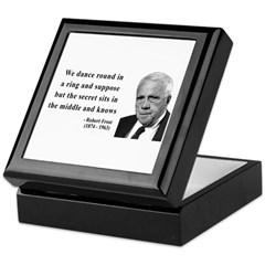 Robert Frost Quote 8 Keepsake Box