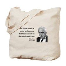 Robert Frost Quote 8 Tote Bag
