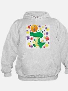 I'm 4 Birthday Alligator Hoodie