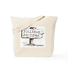 Retro Bullhead Arizona Tote Bag