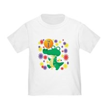 I'm 1 Birthday Alligator T