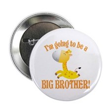 "Big Brother Giraffe 2.25"" Button"