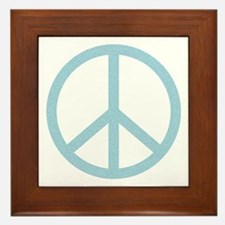 Unique Peace activist Framed Tile