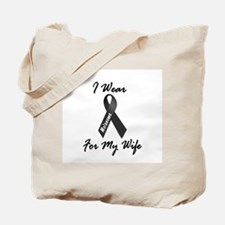 I Wear Black For My Wife 1 Tote Bag