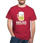 Belize Drinking Team Dark T-Shirt
