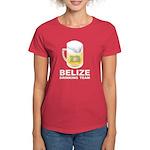 Belize Drinking Team Women's Dark T-Shirt