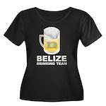 Belize Drinking Team Women's Plus Size Scoop Neck