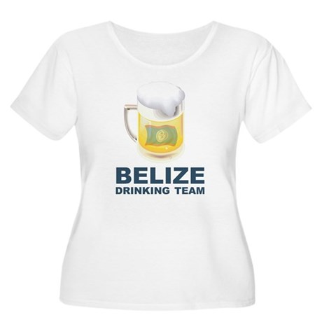 Belize Drinking Team Women's Plus Size Scoop Neck
