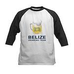 Belize Drinking Team Kids Baseball Jersey