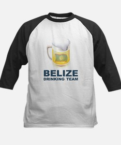Belize Drinking Team Kids Baseball Jersey