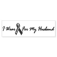 I Wear Black For My Husband 1 Bumper Bumper Sticker
