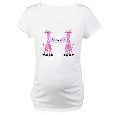 Pink Giraffes Shirt