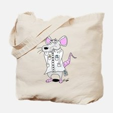 Scientist Lab Rat Tote Bag