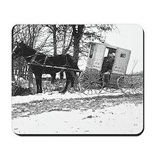 Mail Wagon Broke Down Mousepad