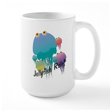 Jellyfish Rule Large Mug