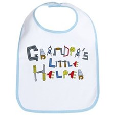 Grandpa's Little Helper Bib