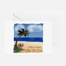 Life's a Beach Greeting Cards (Pk of 10)