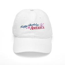 Happy Birthday America Baseball Cap