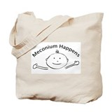 Meconium happens Totes & Shopping Bags