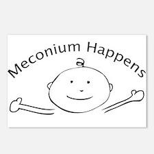 Meconium Happens postcards (Package of 8)
