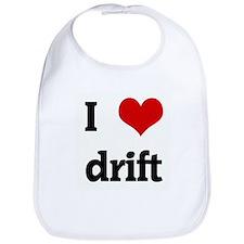 I Love drift Bib