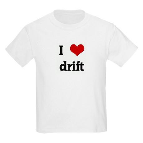 I Love drift Kids Light T-Shirt