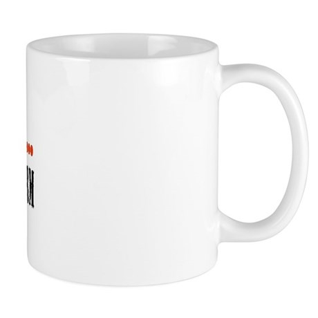 don't mess with me raised on a farm Mug