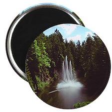 Butchart Quarry Fountain Magnet