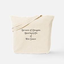 Dragon Humor Tote Bag